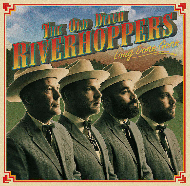 The Old Ditch Riverhoppers - Long Done Gone - artwork LR kopie
